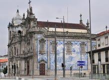 Porto-Kirchen Stockbild