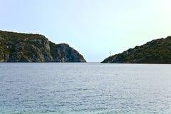 Porto Koufo natural harbour , Chalkidiki, Greece Royalty Free Stock Photos