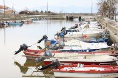 Porto Lagos, Xanthi, Griekenland Royalty-vrije Stock Afbeelding