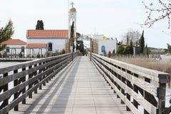 Porto Lagos, Xanthi, Griekenland stock fotografie