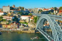 Porto landmarks, Portugal Royalty Free Stock Photos