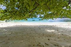 Porto Launay Marine Park, Seychelles imagens de stock royalty free