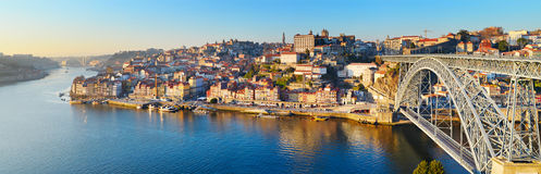 Porto linia horyzontu, Portugalia obraz royalty free