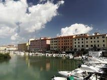 Porto, Livorno Imagem de Stock