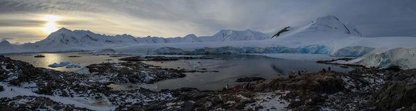 Porto Lockroy, a Antártica Imagem de Stock Royalty Free