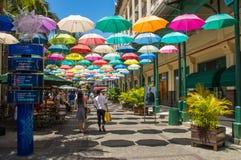 Porto Louis Mauritius di Le Caudan Waterfront fotografia stock libera da diritti