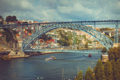 Porto Luis I Bridge Stock Images