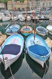 Porto Lympia, agradável, França Fotografia de Stock