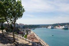 Porto in Mahon Immagine Stock