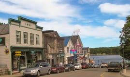 Porto Maine della barra Fotografia Stock