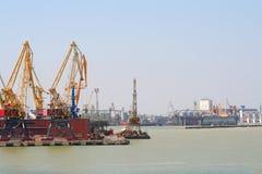 Porto marítimo Fotos de Stock