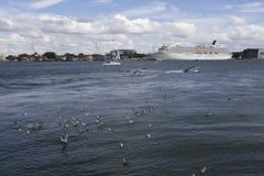 Porto marítimo Fotos de Stock Royalty Free