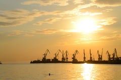 Porto marítimo Fotografia de Stock