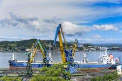 Porto marítimo Imagens de Stock Royalty Free