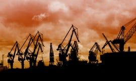 Porto marítimo Imagens de Stock