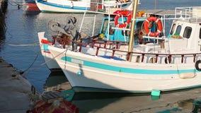 Porto marítimo de Grécia filme