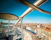 Porto marítimo de Marselha Fotografia de Stock