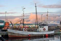 Porto marítimo de Reykjavik fotos de stock royalty free