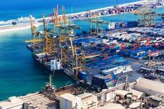 Porto marítimo moderno Fotografia de Stock