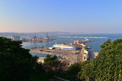 Porto marche Itália de Ancona da paisagem Imagens de Stock