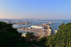 Porto Marche Italia di Ancona del paesaggio Immagini Stock