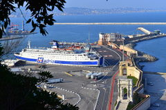 Porto Marche Italia di Ancona del paesaggio Immagine Stock Libera da Diritti