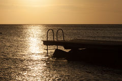 Porto Marie Sunset Stock Photo