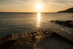 Porto Marie Sunset Stock Photos