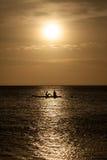 Porto Marie Sunset - people Stock Photo