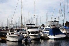 Porto Marina del Ray della barca a vela Fotografie Stock