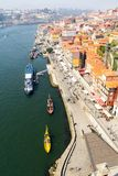Porto maritime traffic Fotografie Stock