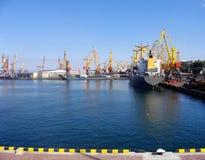 Porto marittimo Immagini Stock