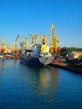 Porto marittimo Immagine Stock