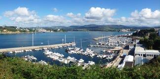Porto marittimo dentro Fotografia Stock Libera da Diritti