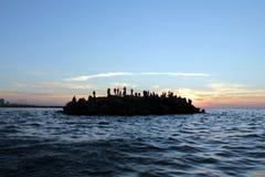 Porto marittimo di Gaza Fotografia Stock