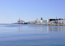 Porto marittimo di Halifax Fotografie Stock Libere da Diritti