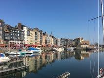 Porto marittimo di Honfleur Immagini Stock Libere da Diritti