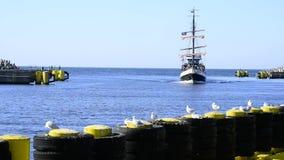 Porto marittimo di Kolobrzeg Fotografie Stock Libere da Diritti