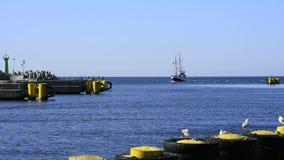Porto marittimo di Kolobrzeg Fotografie Stock