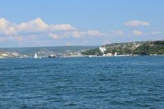 Porto marittimo di Sebastopoli fotografia stock