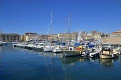 Porto marittimo a Marsiglia Immagine Stock
