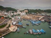 Porto marittimo Vietnam Immagini Stock