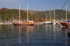Porto Marmaris Turquia fotografia de stock royalty free