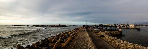 Porto marroquino Foto de Stock Royalty Free