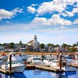 Porto Massachusetts Stati Uniti di Cape Cod Provincetown fotografia stock libera da diritti