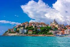 Porto Maurizio w prowincji Imperia, Liguria, Włochy zdjęcie royalty free
