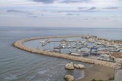 Porto mediterrâneo foto de stock