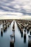 Porto Melbourne Fotografie Stock Libere da Diritti