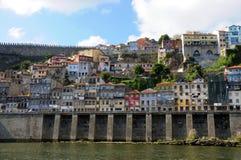Porto, mening van boot Royalty-vrije Stock Foto's