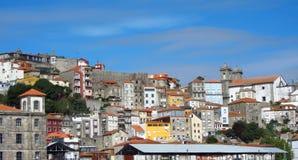 Porto - mening van de haven Stock Foto's